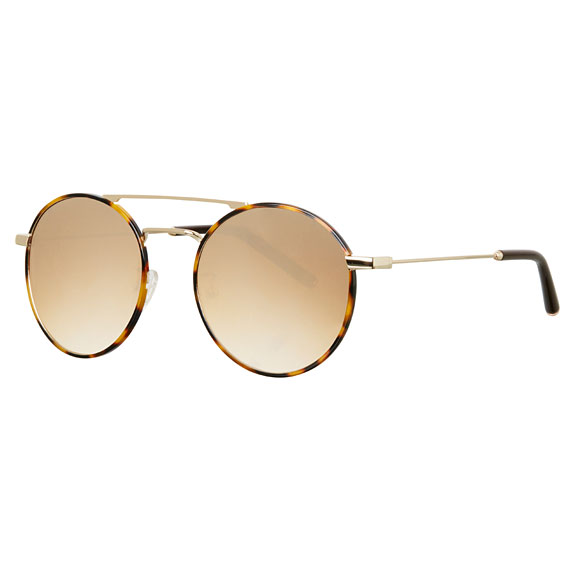 Carin Fray C2 Brown Mirror Gradation - Sonnenbrille