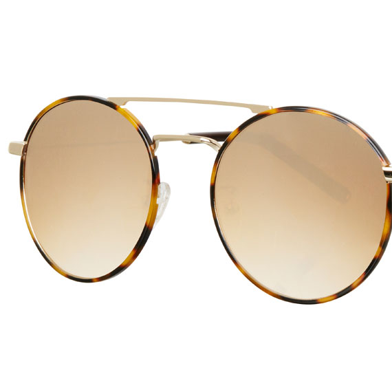 Carin Fray C2 Brown Mirror Gradation - Sonnenbrille, Detail