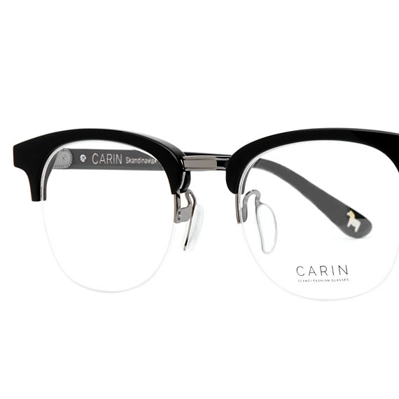 Carin Log C2 - Brille, Detail