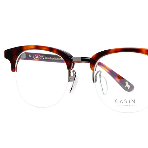 Carin Log C3 - Brille, Detail