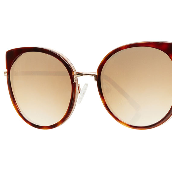 Carin Lucy C3 Brown Mirror Gradation - Sonnenbrille, Detail