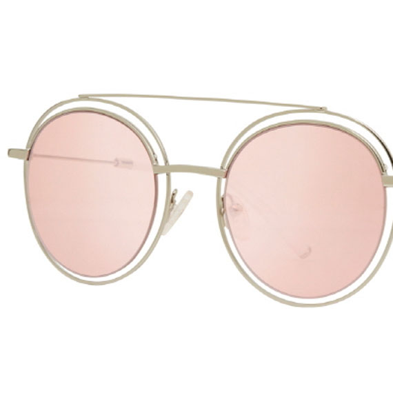 Carin Sedgwick C2 Pink Tint - Sonnenbrille, Detail
